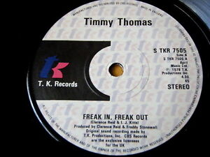TIMMY THOMAS - FREAK IN, FREAK OUT  7