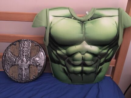 Hulk costume and shield & Hulk costume | Other Baby u0026 Children | Gumtree Australia Stirling ...