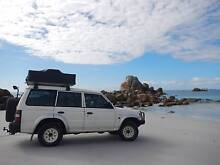 1999 Mitsubishi Pajero V6 + roof tent and camping gear West Melbourne Melbourne City Preview