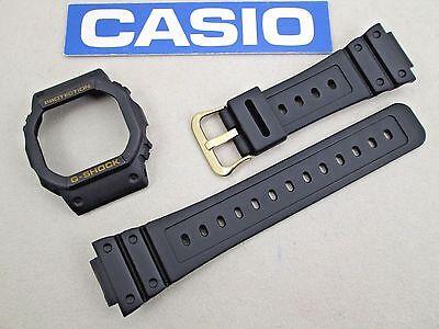 Genuine Casio G-Shock DW-5600EG DW-5600EG-9 watch band bezel black fits DW-5600E for sale  Pasadena