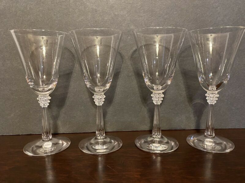 Set of 4 Vintage Elegant Wine Cordial Liquor Glasses 5 1/2""