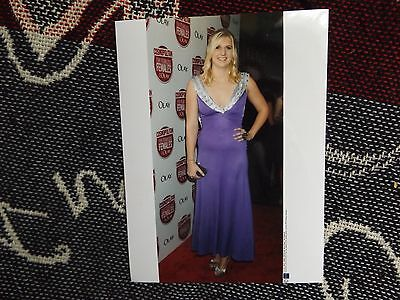 "8"" x 6"" SWIMMING PRESS AGENCY PHOTO - REBECCA ADLINGTON - WOMEN OF YEAR AWARDS"
