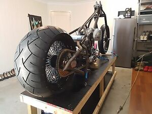 Custom Chopper build Rothwell Redcliffe Area Preview