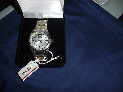 Pulsar by Seiko Men's Dress Sport Two-Tone Stainless Steel Watch  pQ5003 Tone Dress Sport Watch