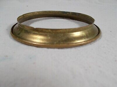 Victorian old Brass Gone with the Wind Oil Lamp Connector Ring c1880
