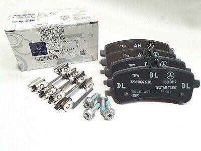 Original Mercedes AMG GT S 190 W222 C217 Bremsbeläge hinten A0084201120