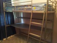 Bunk bed with large desk underneath Kotara Newcastle Area Preview