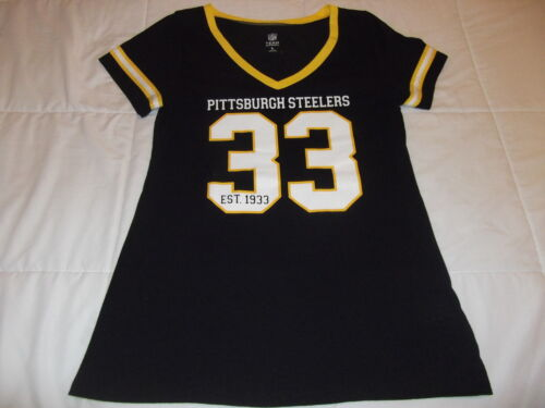 Pittsburgh Steelers Womens L 33 V Neck