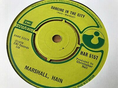 Marshall, Hain---Dancing in the city---Take my number...HAR 5157 for sale  Bradford