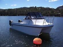Boat, Devil Cat 5.0m, outboard, fishing, trailer Old Beach Brighton Area Preview