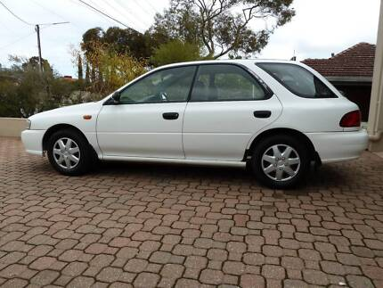 1998 Subaru Impreza Ridgehaven Tea Tree Gully Area Preview