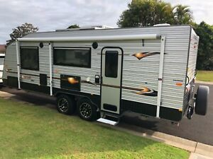 Caravan 22' Concept Ascot SX - luxury with ind suspension & all extras