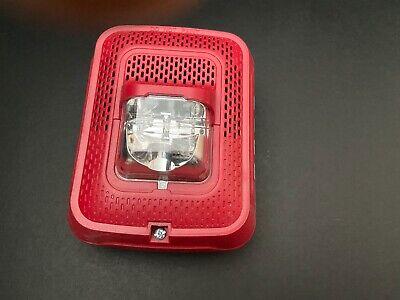 System Sensor Spsrl Fire Alarm Speakerstrobe Wall Red No Mounting Plate