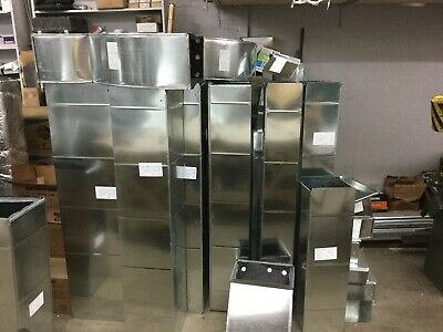 Straight Duct 12 In. X 6 In. X 24 In. 26 Gauge Hvac Ductwork