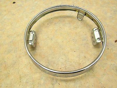 1973 SUZUKI T 500 OEM NEW HEADLIGHT RING