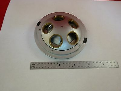For Parts Microscope Nosepiece Turret Nikon Japan As Is Binl3-e-14