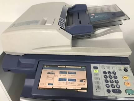 Print, copy, fax, scan - Toshiba eStudio 305