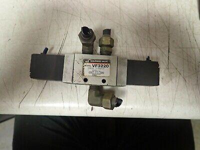 Lot Of 2 Smc Solenoid Valvevf3220102369