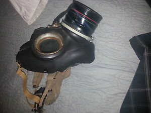 masque a gaz / gas mask nego