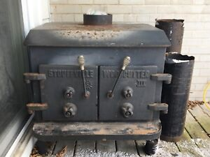 Vintage Stouffville Woodcutter 111 wood stove