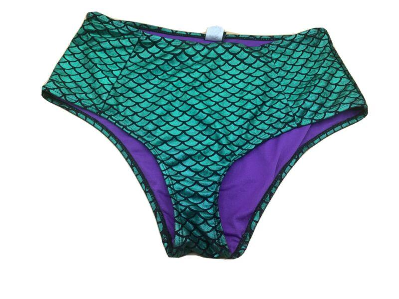 Hot Topic Disney Little Mermaid Ariel Swim Bottoms Size Large L