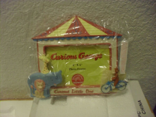 "Curious George ""CURIOUS LITTLE ONE"" 4x6 Photo Frame (Original Packaging)"