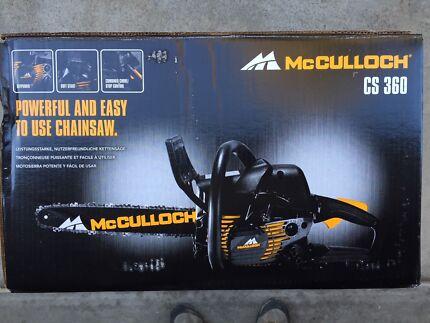 McCULLOCH CS360 CHAINSAW BRAND NEW 36cc 14 INCH BAR