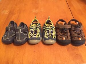 Size 5 boys summer shoes