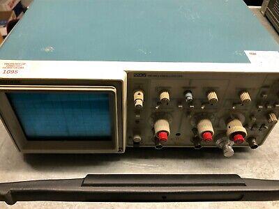 Tektronix 2235 100mhz Oscilloscope Calibration Certificate Included