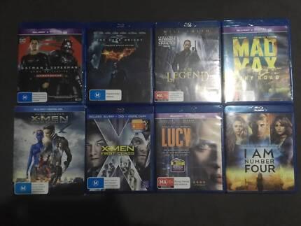 Blu ray movies - $5 each