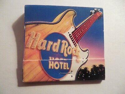 Hard Rock Hotel & Casino Las Vegas Unused Matchbook