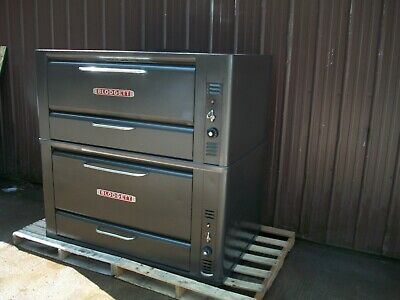 Blodgett 951 Natural Deck Gas Double Pizza Oven With New Stones