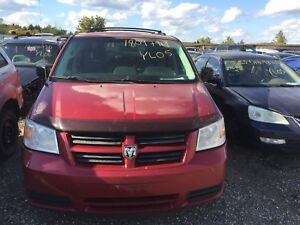 2008 Red Dodge Grand Caravan For parts