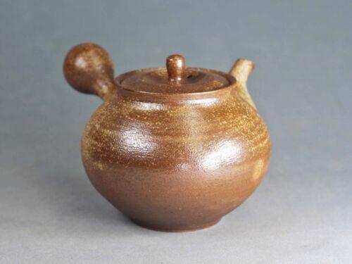 Tokoname Hand-made Teapot by Kohokujo (Hokujo kiln), #taka14 : D88*H78mm, 220ml