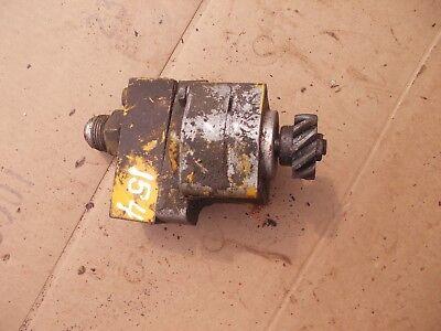 International Cub 154 Low Lo Boy Tractor Good Working Ih Hydraulic Pump Valve