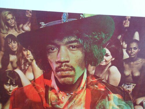 Jimi Hendrix Experience Original UK Electric Ladyland Promo Poster Ultimate Rare