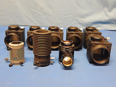 Lot Of 9 Assorted Microscope Light Boxes