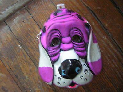 VINTAGE HALLOWEEN MASK DOG BLOODHOUND BEN COOPER COLLEGEVILLE EARLY 70'S ](70's Halloween Masks)