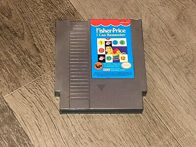 Fisher Price I Can Remember Nintendo Nes Cleaned & Tested Authentic