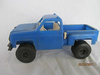 Processed Plastic Co. Chevrolet Chevy truck blue  restoration  ()