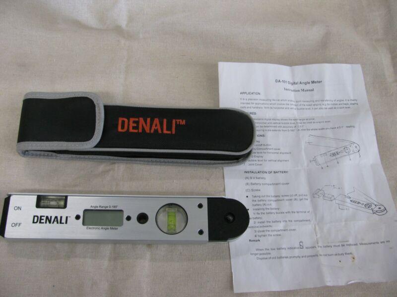 Denali Digital Angle Protractor-DA-101- w/case and manual