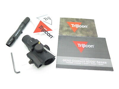 Trijicon ACOG 1.5x16s Compact Riflescope Dual Green Ring TA44-C-400140