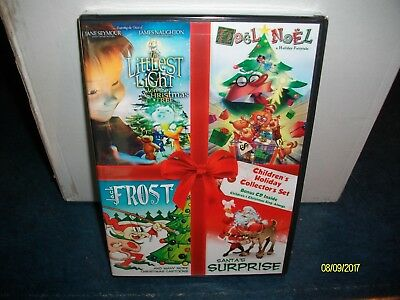 CHILDREN'S HOLIDAY COLLECTOR SET JACK FROST DVD BRAND NEW AND SEALED, used for sale  Herscher