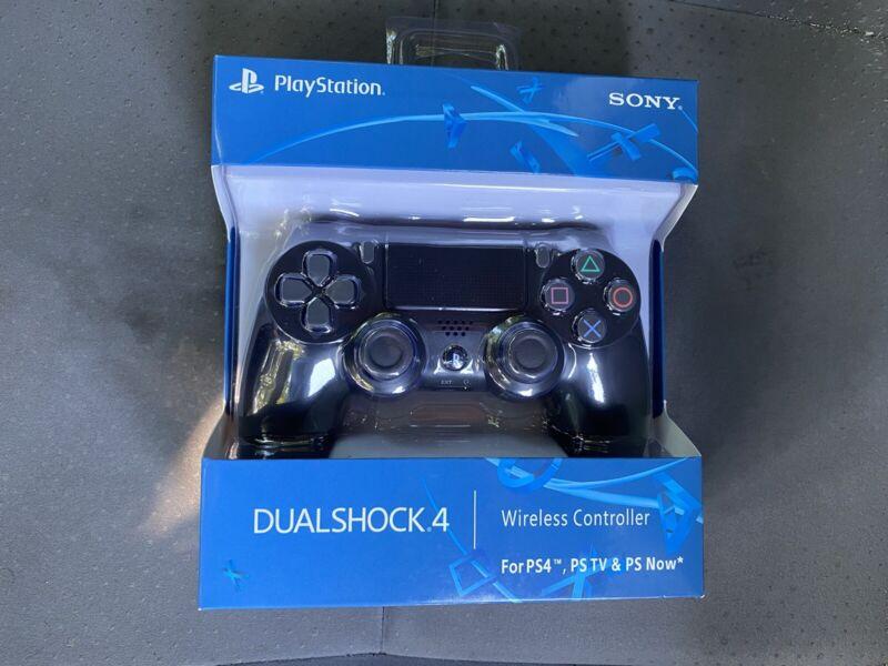 Sony PlayStation Dualshock 4 Wireless Controller - Jet Black (NEW)