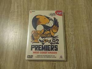 AFL Premiers 92 '92 1992 - West Coast Eagles Footy Club - DVD Ringwood Maroondah Area Preview