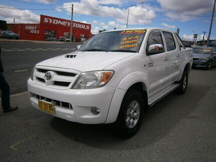 2006 Toyota Hilux SR5 4X4 DUAL CAB ONLY $25990 Fyshwick South Canberra Preview