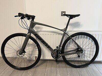 Giant Fastroad Advanced 2 2021 Large Carbon **Brand New** Hybrid Fitness Bike