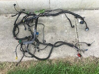 PEUGEOT 206 1.1 tu1jp engine main wiring harness Loom Delphi ecu 9652029080