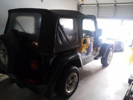 2003 Jeep Wrangler Convertible