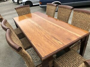 8 seater dining table